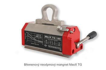 Permanentní břemenový magnet MaxX TG 150, nosnost 150 kg - 1