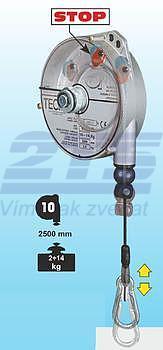 Balancér 9347 (Tecna), nosnost:4-6 kg, 2500 mm - 1