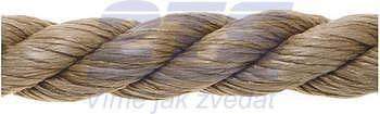Konopné lano stáčené 3mm