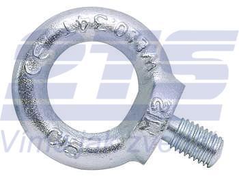 Šroub s okem DIN 580 M72-pozinkovaný-C15E,nosnost 20000kg - 1