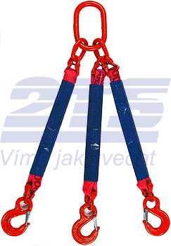 3-hák textilní RS, nosnost RS 5t, délka 4,5m