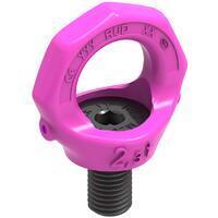 Šroubovací otočný bod bez klíče RUD VRS M33x45mm, nosnost: 4,5t(12t) - 1/4