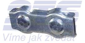 Svorka lanová DUPLEX 2mm, Zn