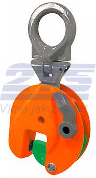 Vertikální svěrka VEUW-H 7,5t, Extra-Hart, 0-55mm - 1