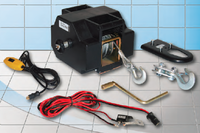 Lanový naviják elektrický GEW 12V max. zatížení v tahu: 1.800 kg - 1/2