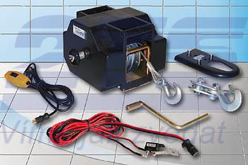 Lanový naviják elektrický GEW 12V max. zatížení v tahu: 1.800 kg - 1