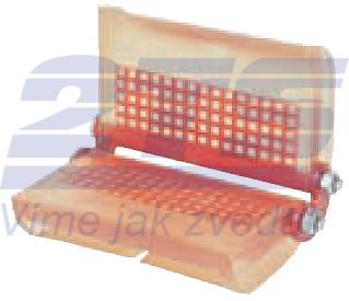 Rohová kloubová ochrana SKB-30A pro textilní úvazky 30mm, bez magnetů - 1