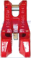 Zkracovací hák s vidlicí a pojistkou VKP průměr 7 mm, třída 8 - 1