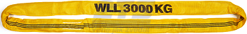 Jeřábová smyčka  RS 3t,2,5m, užitná délka - 1