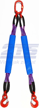 2-hák textilní HB, nosnost HB 1t, délka 2m, GAPA