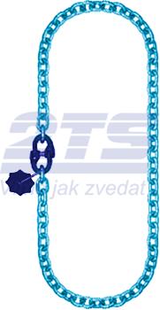 Řetěz nekonečný průměr 6 mm, užitná délka 5 m, třída 10 GAPA