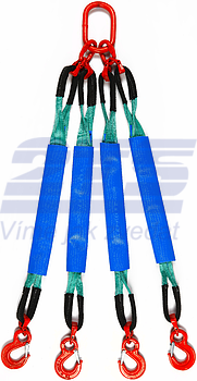4-hák textilní HB, nosnost HB 2t, délka 2m, GAPA