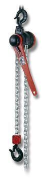 Pákový kladkostroj s článkovým řetězem Z310 1 t, délka zdvihu 3 m - 1