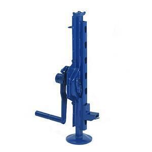 Hřebenový zvedák s přestavitelnou opěrou 15-00, nosnost 2,5 t, ráčnoklika - 1
