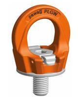 Šroubovací otočný  bod PLGW M30x45, nosnost 4,9 t, basic bez čipu- pro montážní klíč - 1/4