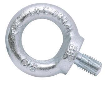 Šroub s okem DIN 580 M30x44mm, ocel C15E, galvanicky pozinkovaný - 1