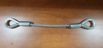 Očnice - očnice lanové průměr 6 mm, délka 0,5 m