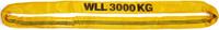 Jeřábová smyčka  RS 3t,2m, užitná délka - 1/2