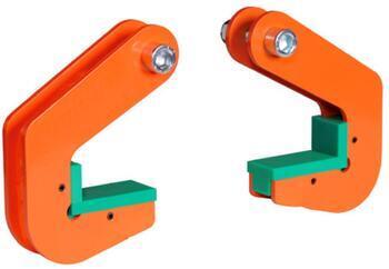 Horizontální svěrka CPH 10 t, 70 mm, pár - 1