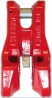 Zkracovací hák s vidlicí a pojistkou VKP průměr 13 mm, třída 8 - 1