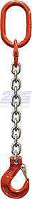 Oko-hák řetězový průměr 16 mm, délka 1m,,třída 8 GAPA