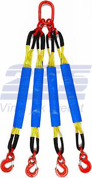 4-hák textilní HB, nosnost HB 3t, délka 3m, GAPA