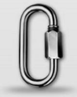 Řetězová rychlospojka prodloužená DIN 56927 Zn, průměr 5 mm - 1/2