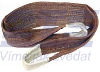Plochý pás s oky čtyřvrstvý HB4 12t,4m, šíře 180 mm - 1