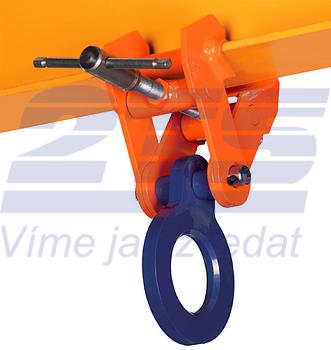 Šroubovací závěsná svěrka CSV 5t, 150-300mm - 1