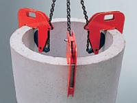 Nosič skruží vačkový NSV-r s řetězem 3t, 50-180 mm - 1/2
