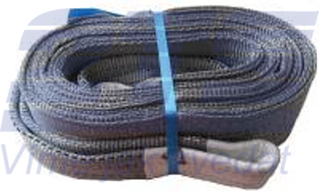 Plochý pás s oky dvouvrstvý HB2 4t,6m - 1