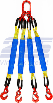 4-hák textilní HB, nosnost HB 3t, délka 1,5m, GAPA