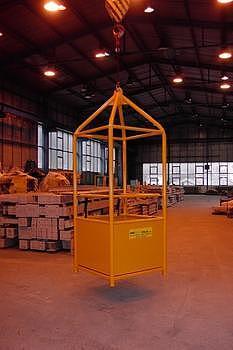 Závěsná revizní klec ZKR1 301/0,9m nosnost 300kg - 1