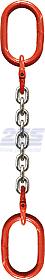 Oko-oko řetězový průměr 8 mm, délka 1,5 m, třída 8 GAPA