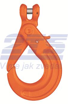 Vyklápěcí bezpečnostní hák s vidlicí KLHW průměr 26 mm, třída 10 - 1