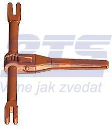 Řetězový napínák s vidlicí ŘNV průměr 8 mm, třída 10 - 1