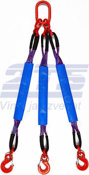 3-hák textilní HB, nosnost  HB 1t, délka 2m, GAPA