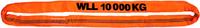 Jeřábová smyčka  RS 10t,10m, užitná délka - 1/2