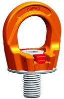Šroubovací otočný  bod PLGW M36x55, nosnost 7 t, basic bez čipu- pro montážní klíč - 1/6