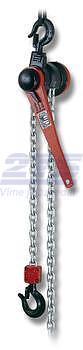 Pákový kladkostroj s článkovým řetězem Z310 3,2 t, délka zdvihu 3 m