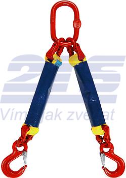 2-hák textilní RS, nosnost 3t, délka 1,5m - 1
