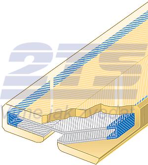 Polyuretanová ochrana jednostranná Clip-SC šíře 150mm