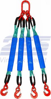 4-hák textilní HB, nosnost HB 2t, délka 1m, GAPA