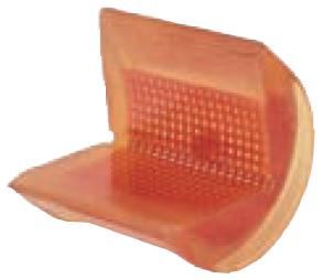Rohová pevná ochrana SWH pro textilní úvazky 100mm standard, bez magnetů - 1