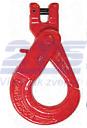Vyklápěcí bezpečnostní hák s vidlicí BKG průměr 10, třída 10 (CSCX10) - 1