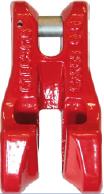 Zkracovací hák s vidlicí VK průměr 7/8 mm, třída 8 - BEZ POJISTKY - 1