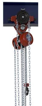Řetězový kladkostroj pojízdný Z220-B, nosnost 1,6 t, délka zdvihu 6 m - 1