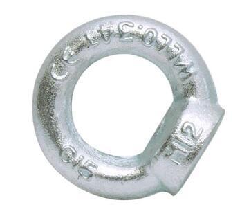 Matice s okem DIN 582 M20, ocel C15E, galvanicky pozinkovaná - 1