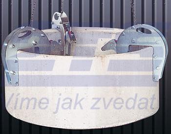 Nosič skruží šachtový 1,5t, 25-130 mm, délka řetězu 2,50 m