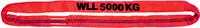 Jeřábová smyčka  RS 5t,2,5m, užitná délka - 1/2